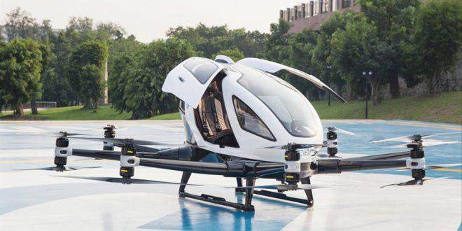 Penampakan Taksi Drone Yang Siap Mengudara di Bali Oktober 2021