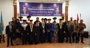 Pelantikan dan Syukuran Alih Kepemimpinan STT Jaffray Jakarta, Welly Octavianus: 3 Hal Yang Dimiliki Bangun SDM